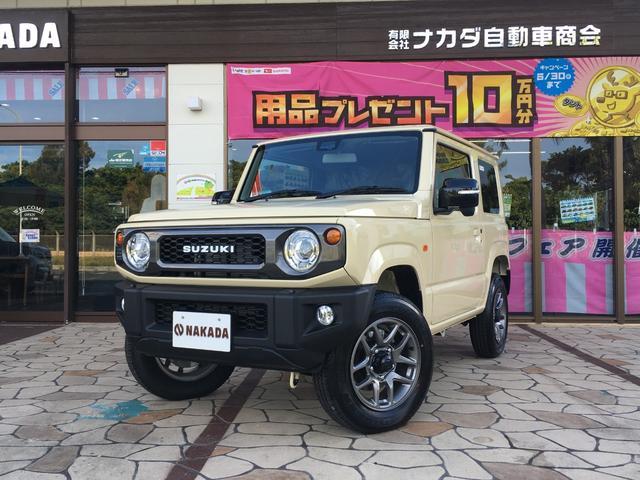沖縄県の中古車ならジムニー XC 届出済未使用車 純正OPフロントグリル