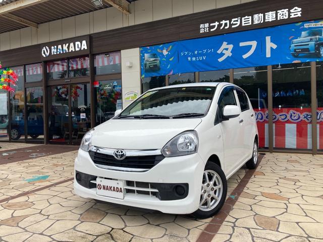 沖縄の中古車 トヨタ ピクシスエポック 車両価格 45万円 リ済別 2016(平成28)年 7.1万km ホワイト