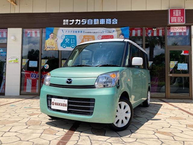 沖縄県中頭郡嘉手納町の中古車ならフレアワゴン XS 純正ナビ TV 電動スライドドア