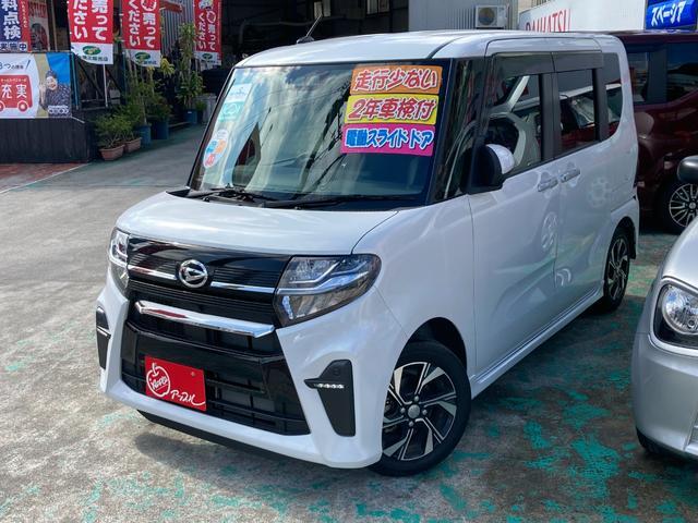 沖縄の中古車 ダイハツ タント 車両価格 154万円 リ済込 2019(令和1)年 1.2万km パール