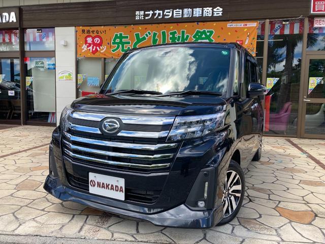 沖縄県の中古車ならトール カスタムG リミテッドII SAIII 自社デモカーUP 全方位カメラ 純正9インチナビ 両側電動スライド