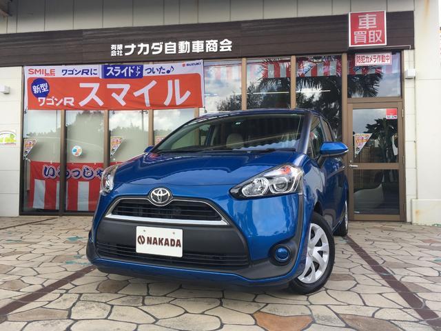 沖縄県中頭郡嘉手納町の中古車ならシエンタ X 社外ナビ Bluetoothオーディオ バックカメラ トヨタセーフティセンス ETC