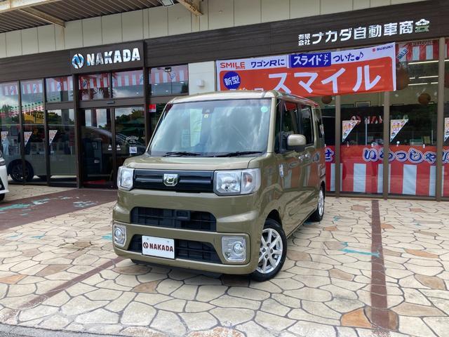 沖縄県中頭郡嘉手納町の中古車ならウェイク L SAII 社外ナビ バックカメラ ETC Bluetoothオーディオ 両側電動スライド