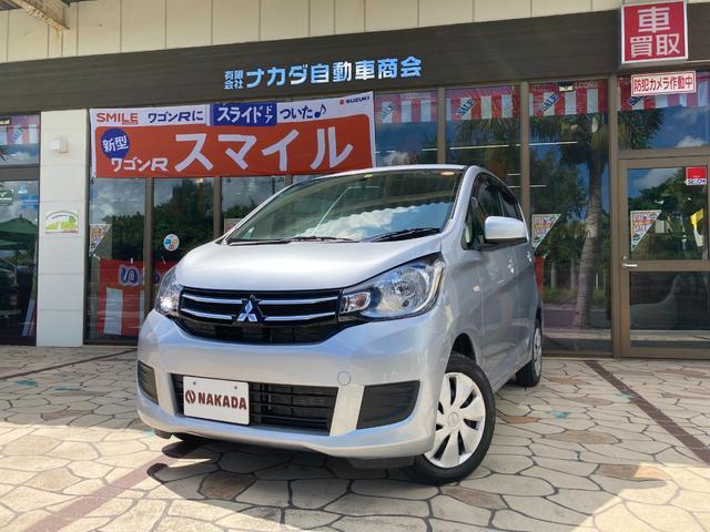 沖縄県中頭郡嘉手納町の中古車ならeKワゴン M 純正ナビ TV Bluetoothオーディオ