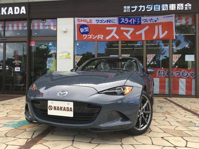 沖縄県中頭郡嘉手納町の中古車ならロードスターRF S フルセグTV Bluetoothオーディオ バックカメラ