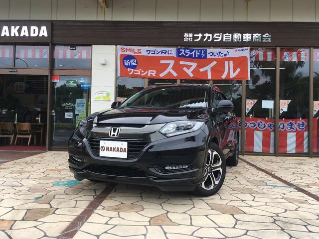 沖縄県の中古車ならヴェゼル ハイブリッドZ・ホンダセンシング 純正ナビ TV バックカメラ パワーシート メモリーシート
