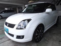 沖縄の中古車 スズキ スイフト 車両価格 59万円 リ済込 平成22年 2.9万K パールホワイト