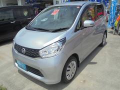 沖縄の中古車 日産 デイズ 車両価格 74万円 リ済込 平成25年 3.2万K シルバーM