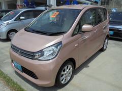 沖縄の中古車 三菱 eKワゴン 車両価格 65万円 リ済込 平成26年 7.7万K ピンクM