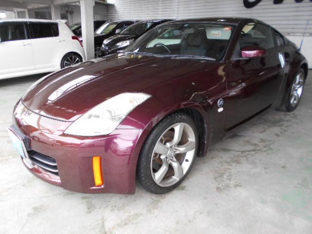 沖縄の中古車 日産 フェアレディZ 車両価格 85万円 リ済込 2006(平成18)年 6.0万km ブラウン