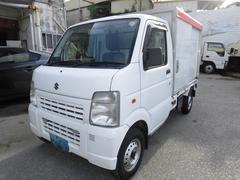 沖縄の中古車 スズキ キャリイトラック 車両価格 45万円 リ済込 平成24年 7.4万K ホワイト