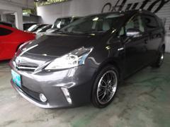 沖縄の中古車 トヨタ プリウスアルファ 車両価格 119万円 リ済込 平成24年 6.3万K グレー