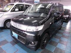 沖縄の中古車 スズキ ワゴンRスティングレー 車両価格 65万円 リ済込 平成24年 5.8万K ブラック