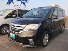 沖縄の中古車 日産 セレナ 車両価格 135万円 リ済込 平成25年 6.0万K ブラック