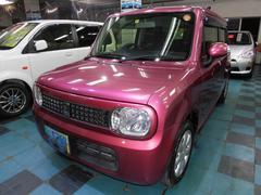 沖縄の中古車 スズキ アルトラパン 車両価格 58万円 リ済込 平成24年 7.8万K ピンク
