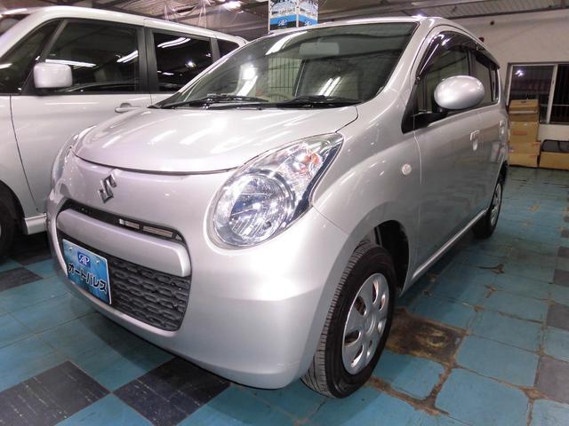 沖縄の中古車 スズキ アルト 車両価格 34万円 リ済込 平成25年 7.2万km シルバー