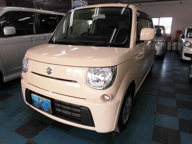 沖縄の中古車 スズキ MRワゴン 車両価格 59万円 リ済込 平成24年 5.3万km ベージュ