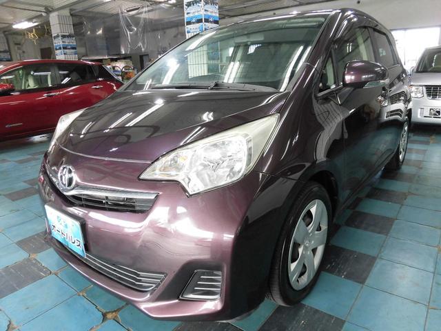沖縄の中古車 トヨタ ラクティス 車両価格 65万円 リ済込 平成24年 4.4万km ブラウン