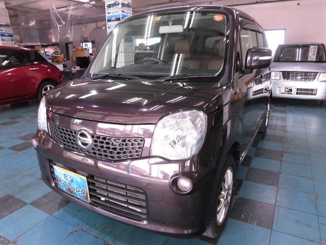 沖縄の中古車 日産 モコ 車両価格 63万円 リ済込 平成26年 7.1万km ブラウン