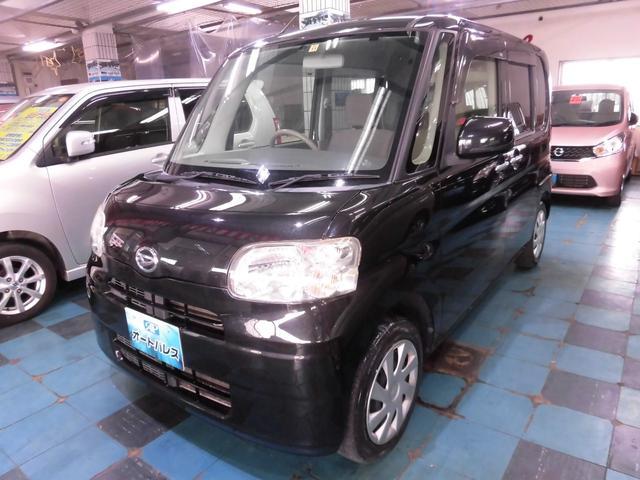 沖縄の中古車 ダイハツ タント 車両価格 63万円 リ済込 平成24年 6.9万km ブラック