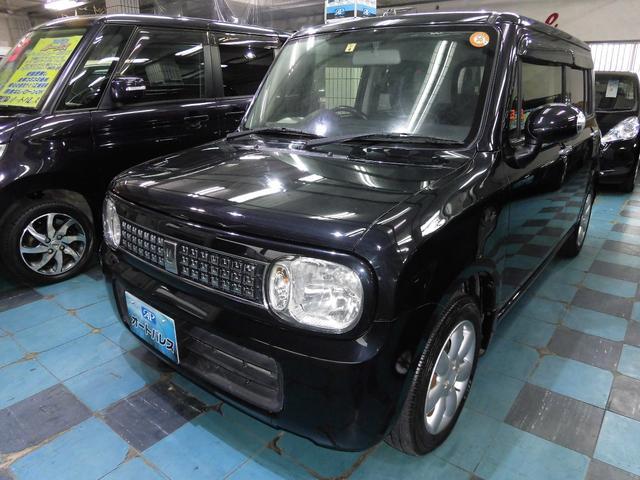 沖縄の中古車 スズキ アルトラパン 車両価格 58万円 リ済込 平成24年 7.5万km ブラックM