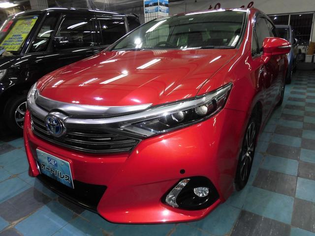 沖縄の中古車 トヨタ SAI 車両価格 155万円 リ済込 平成26年 7.4万km レッドM