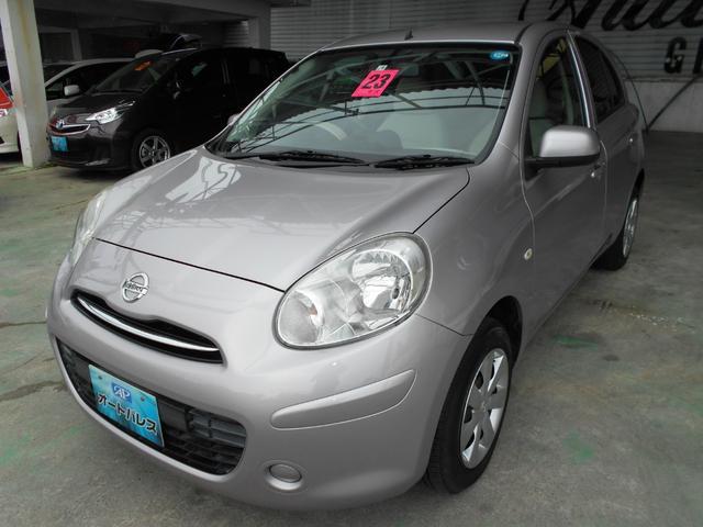 沖縄の中古車 日産 マーチ 車両価格 38万円 リ済込 2011(平成23)年 6.6万km ライトパープルM