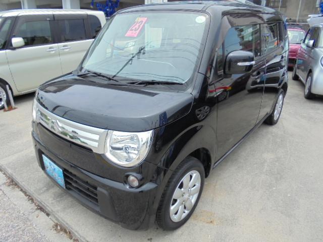 沖縄の中古車 スズキ MRワゴン 車両価格 52万円 リ済込 2011(平成23)年 7.3万km ブラックM