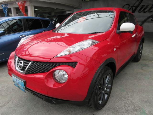 沖縄の中古車 日産 ジューク 車両価格 88万円 リ済込 2013(平成25)年 6.0万km レッド