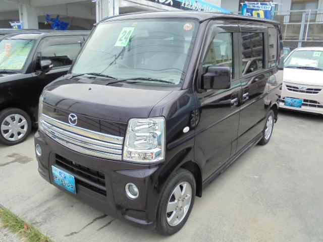 沖縄の中古車 マツダ スクラムワゴン 車両価格 63万円 リ済込 2012(平成24)年 8.4万km パープルM