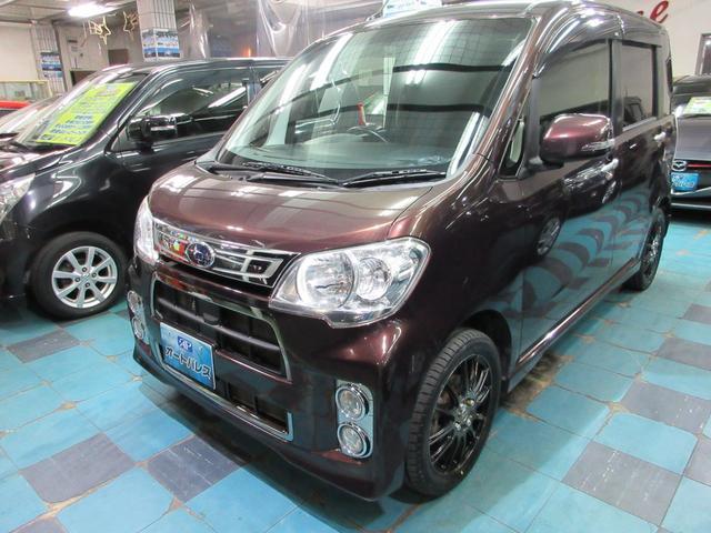 沖縄の中古車 スバル ルクラ 車両価格 73万円 リ済込 2013(平成25)年 6.8万km ブラウンM