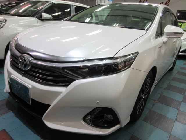 トヨタ SAI Gタイプ 電動チルト 両側パワーシート シートヒーター