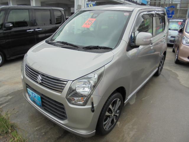 沖縄の中古車 スズキ ワゴンR 車両価格 63万円 リ済込 2013(平成25)年 6.1万km グレーM