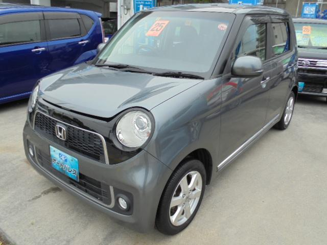 沖縄の中古車 ホンダ N-ONE 車両価格 68万円 リ済込 2013(平成25)年 8.0万km グレーII