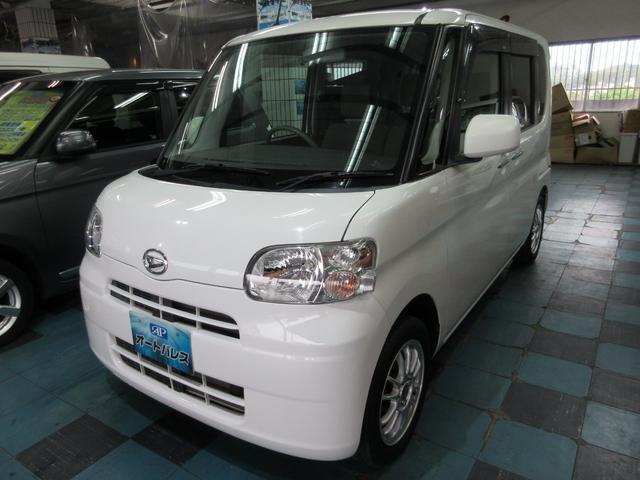 沖縄の中古車 ダイハツ タント 車両価格 63万円 リ済込 2013(平成25)年 7.0万km ホワイト