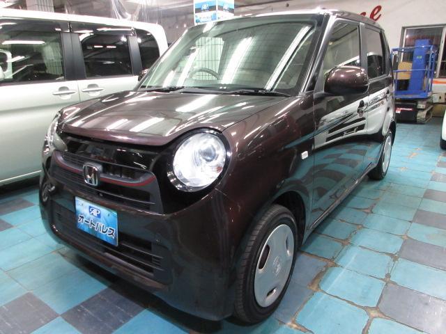 沖縄の中古車 ホンダ N-ONE 車両価格 54万円 リ済込 2013(平成25)年 8.1万km ブラウンM