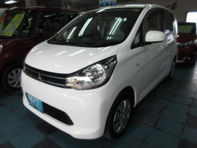 沖縄の中古車 三菱 eKワゴン 車両価格 45万円 リ済込 2013(平成25)年 6.4万km ホワイト