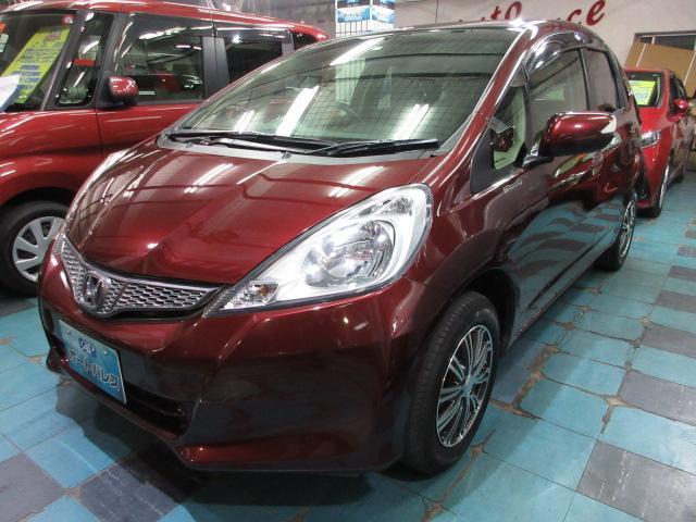 沖縄の中古車 ホンダ フィット 車両価格 40万円 リ済込 2012(平成24)年 7.7万km ワインM