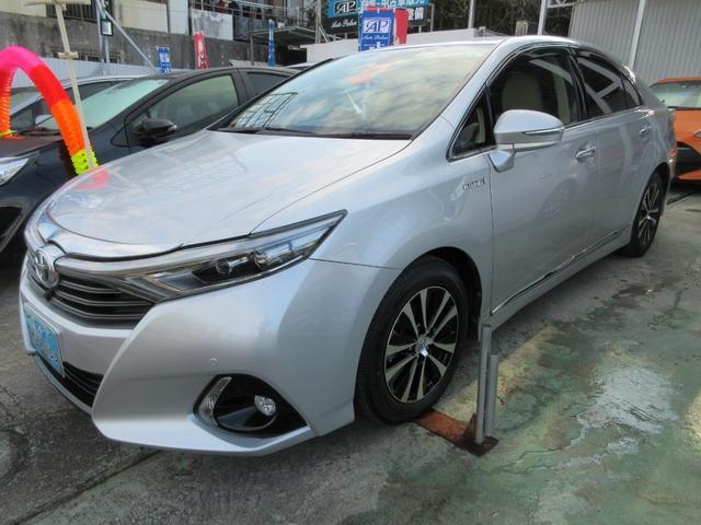 沖縄県宜野湾市の中古車ならSAI G ツーリングセレクション フルセグTV ナビ DVDビデオ Bluetooth フロント&バックカメラ装備