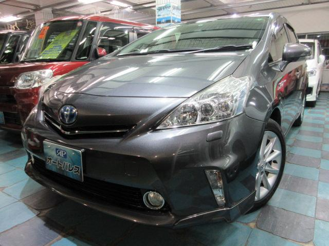 沖縄県うるま市の中古車ならプリウスアルファ Gツーリングセレクション
