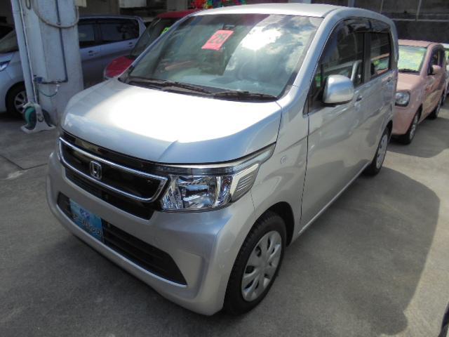 沖縄の中古車 ホンダ N-WGN 車両価格 70万円 リ済込 2016(平成28)年 7.9万km シルバーM