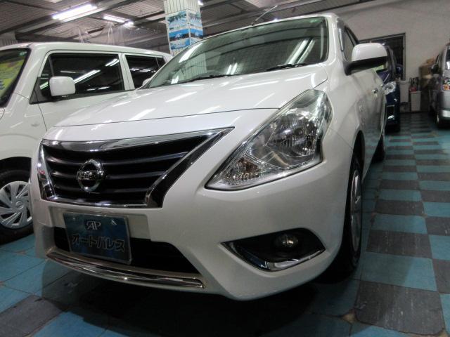 沖縄の中古車 日産 ラティオ 車両価格 68万円 リ済込 2016(平成28)年 4.1万km パールホワイト