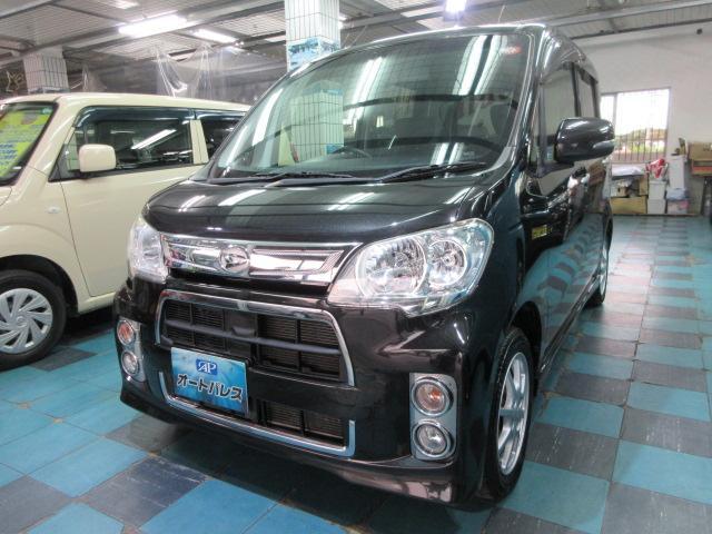 沖縄の中古車 ダイハツ タントエグゼ 車両価格 53万円 リ済込 2012(平成24)年 5.4万km ブラックM