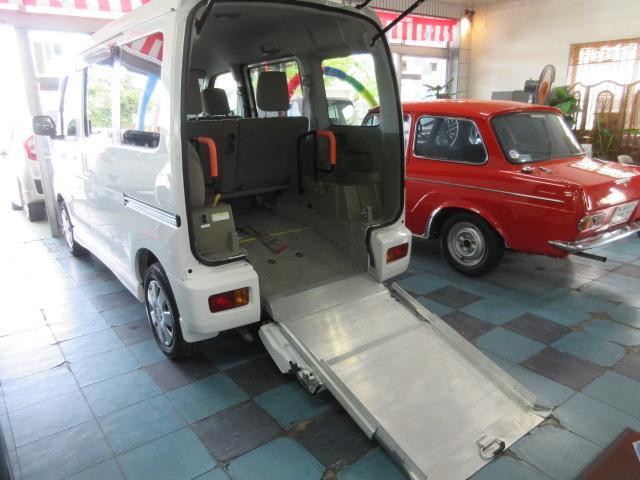 沖縄県うるま市の中古車ならアトレーワゴン  車椅子スローパーリアシート付き仕様