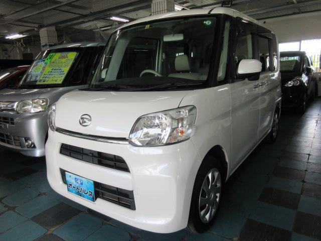 沖縄の中古車 ダイハツ タント 車両価格 73万円 リ済込 2015(平成27)年 6.7万km パール