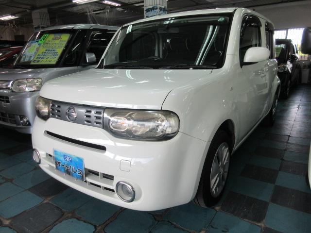 沖縄県うるま市の中古車ならキューブ 15X インディゴ+プラズマ