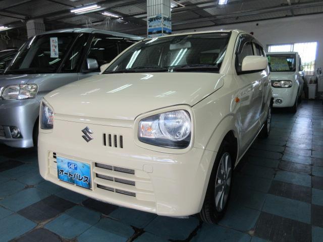 沖縄の中古車 スズキ アルト 車両価格 54万円 リ済込 2015(平成27)年 5.1万km ベージュ