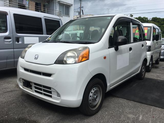沖縄の中古車 ホンダ ライフ 車両価格 16万円 リ済込 平成22年 18.2万km ホワイト