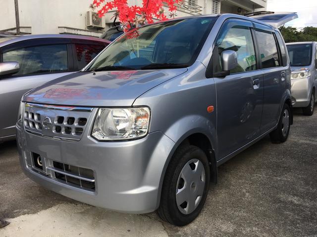 沖縄の中古車 日産 オッティ 車両価格 23万円 リ済込 平成22年 11.8万km シルバー