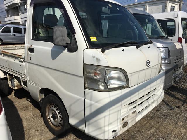 沖縄の中古車 ダイハツ ハイゼットトラック 車両価格 19万円 リ済込 平成17年 20.0万km ホワイト
